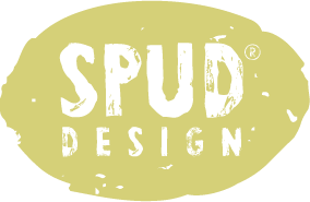 Spud Design | Graphic design, web, print and marketing Logo